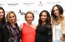 RED CARPET RENDEZVOUS: Wives of the NFL and NBA got glamorous for Fashion IQ and Rosemark Group's Holiday Soireé