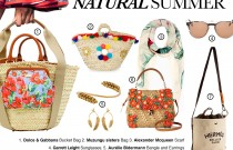 ALL NATURAL ACCESSORIES RAFIA BAGS AND NATURE INSPIRED ACCESSORIES FOR LATE SUMMER