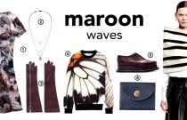 FASHION IQ TREND: MAROON WAVES