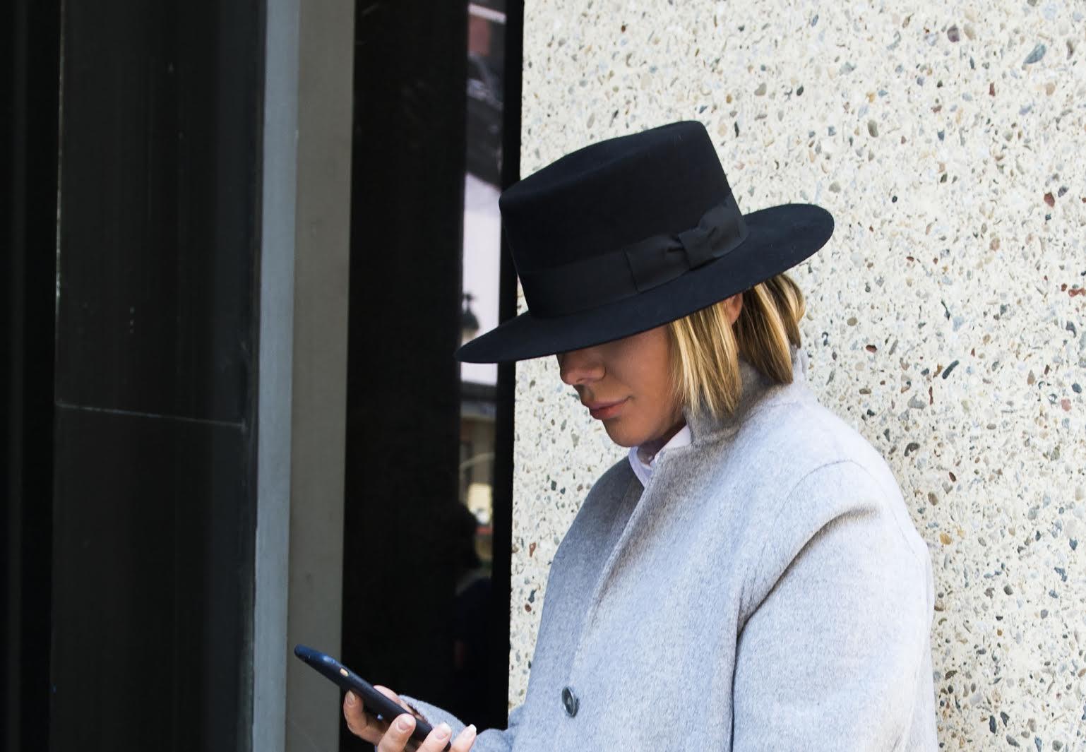 Saint Laurent Boater Hat