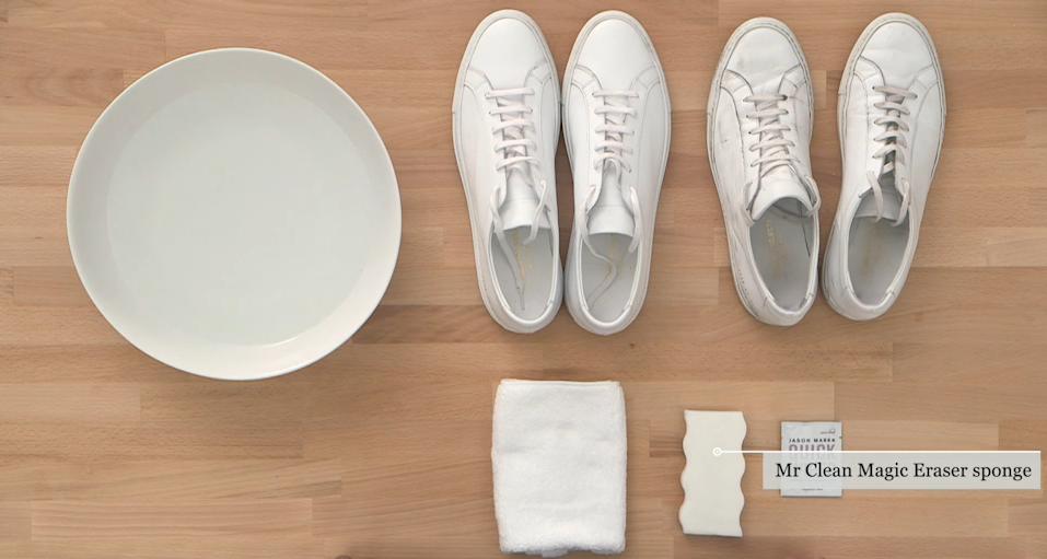 White Shoe Care