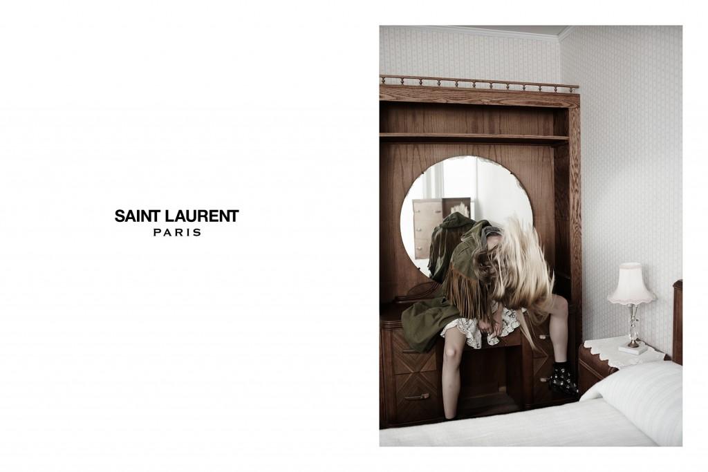 Suede and Fringe, Saint Laurent