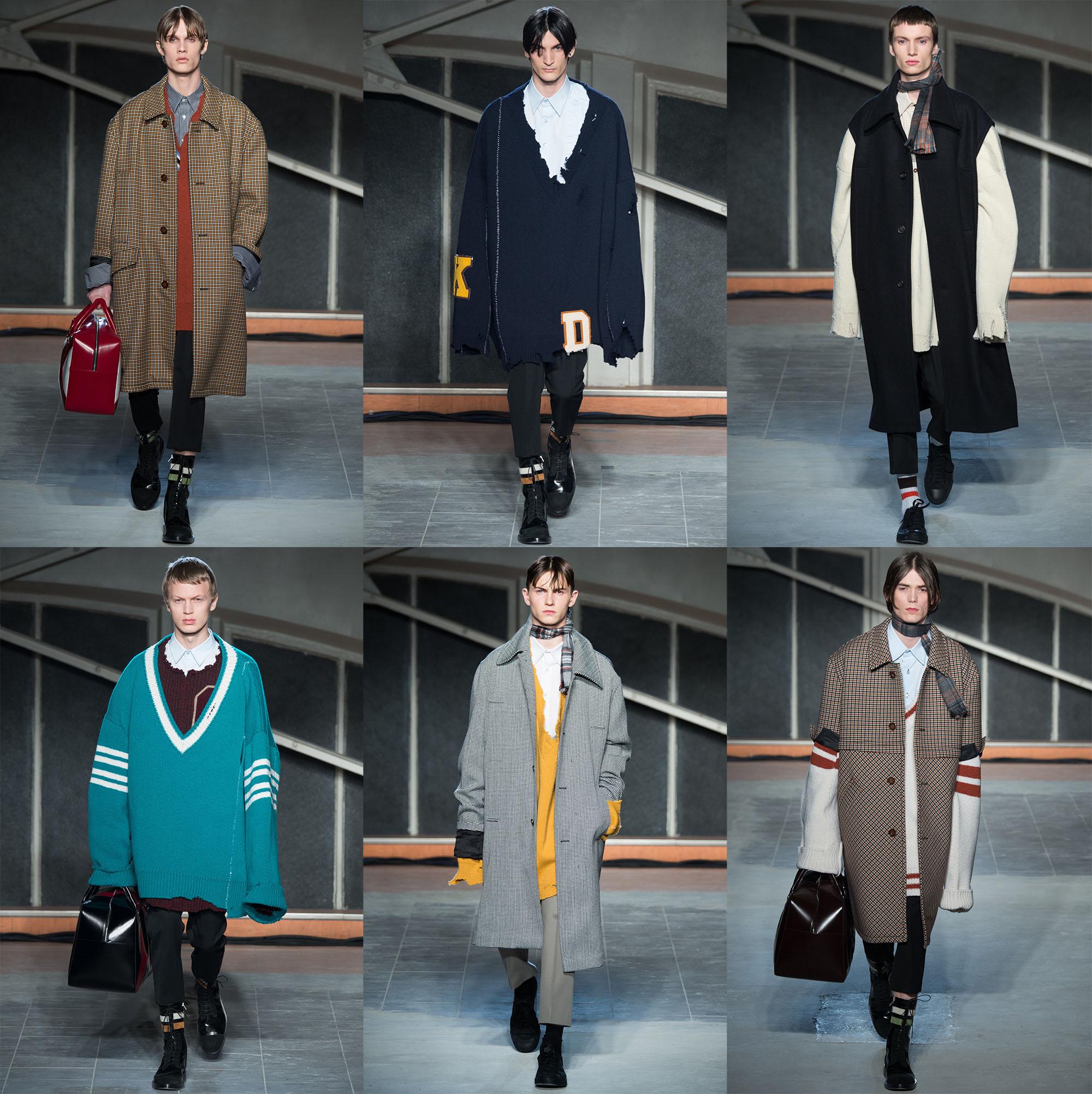 Menswear Paris RafSimons
