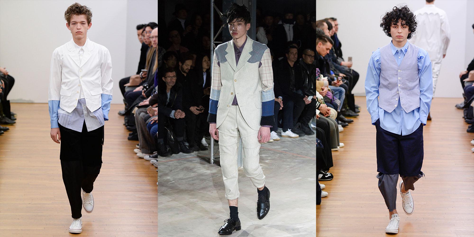 Menswear Paris CDG Commes Des Garcons